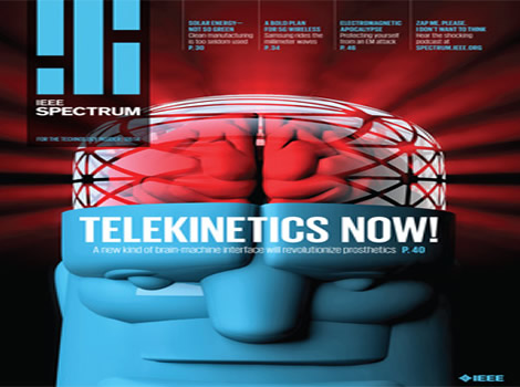 The latest issue of IEEE Spectrum, How to Catch Brain Waves in a Net, now available in IEEE Xplore