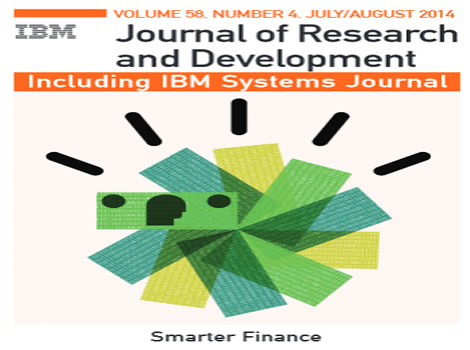 Now available in IEEE Xplore: The latest issue of the IBM Journal of Research & Development - Smarter Finance